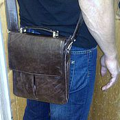 Сумки и аксессуары handmade. Livemaster - original item Bag leather mens 207. Handmade.