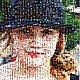 """Персональные подарки ручной работы. Фотомозаика """"Моя внучка Лиза"""". КРЕАТИВНЫЕ ФОТОМОЗАИКИ. Интернет-магазин Ярмарка Мастеров. Подарок, оригинальный"""