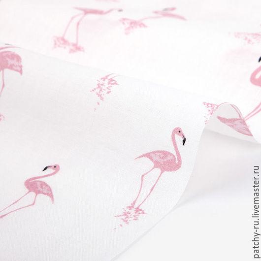 Шитье ручной работы. Ярмарка Мастеров - ручная работа. Купить Dailylike 336 Flamingo linen. Handmade. Чёрно-белый