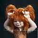 Коллекционные куклы ручной работы. Ярмарка Мастеров - ручная работа. Купить Авторская войлочная кукла Маленькая Разбойница. Handmade. Рыжий
