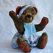 Куклы и игрушки ручной работы. Ярмарка Мастеров - ручная работа мишка тедди Молли. Handmade.