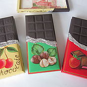 Для дома и интерьера ручной работы. Ярмарка Мастеров - ручная работа купюрница Шоколадка. Handmade.