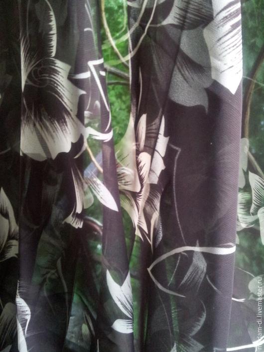 """Шитье ручной работы. Ярмарка Мастеров - ручная работа. Купить Шифон """" Барака """"Японский шелк 1,90 м. Handmade."""