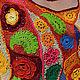 """Топы ручной работы. Топ летний """"Mexicana"""". Елена Мирошникова (melvik). Ярмарка Мастеров. Ярко-желтый, синий, летний топ"""