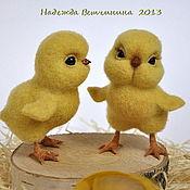 Куклы и игрушки ручной работы. Ярмарка Мастеров - ручная работа Морошка и Лимончик. Handmade.