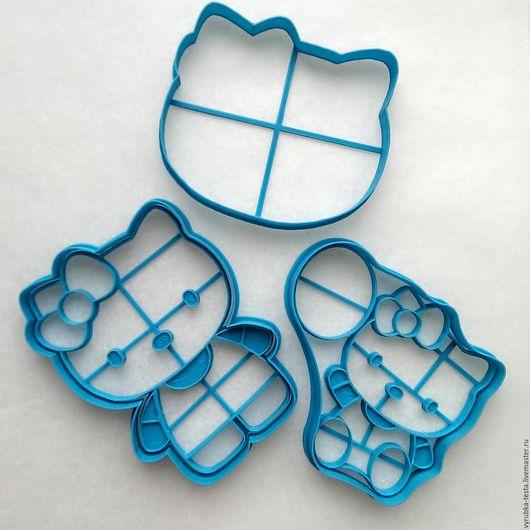 Кухня ручной работы. Ярмарка Мастеров - ручная работа. Купить Hello Kitty - вырубка для печенья, пряников, мастики. Handmade. Комбинированный