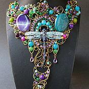 Украшения handmade. Livemaster - original item Necklace A Treasure Trove Of Summer. Handmade.