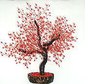"""Цветы и флористика ручной работы. Ярмарка Мастеров - ручная работа Дерево из коралла """" Счастливая семья"""". Handmade."""
