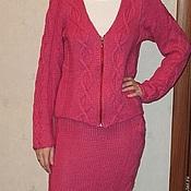 Одежда ручной работы. Ярмарка Мастеров - ручная работа Вязаный костюм. Handmade.