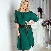 Одежда handmade. Livemaster - original item Dress summer dress off shoulder. Handmade.