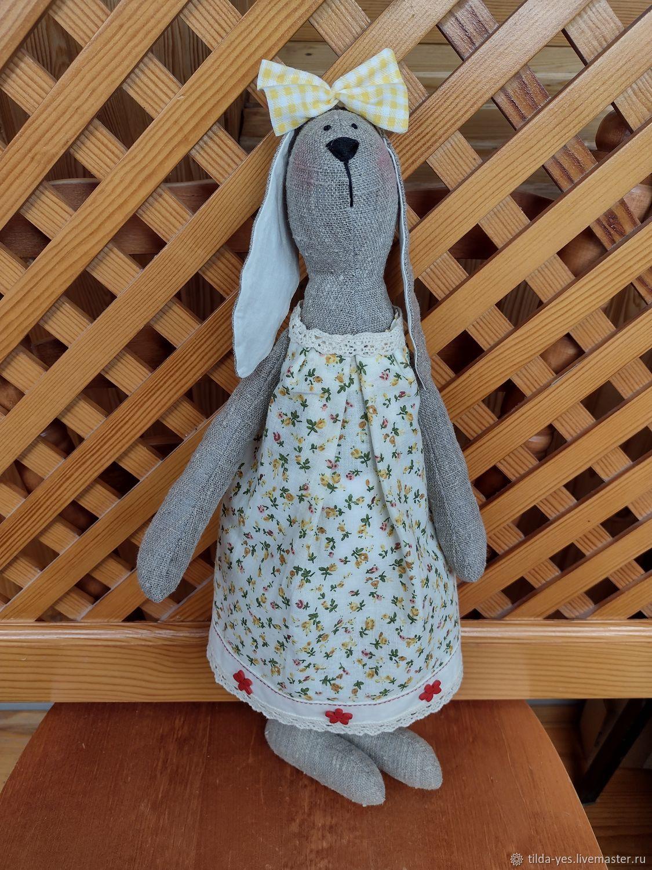 Тильда заяц Маша, Мягкие игрушки, Тюмень,  Фото №1