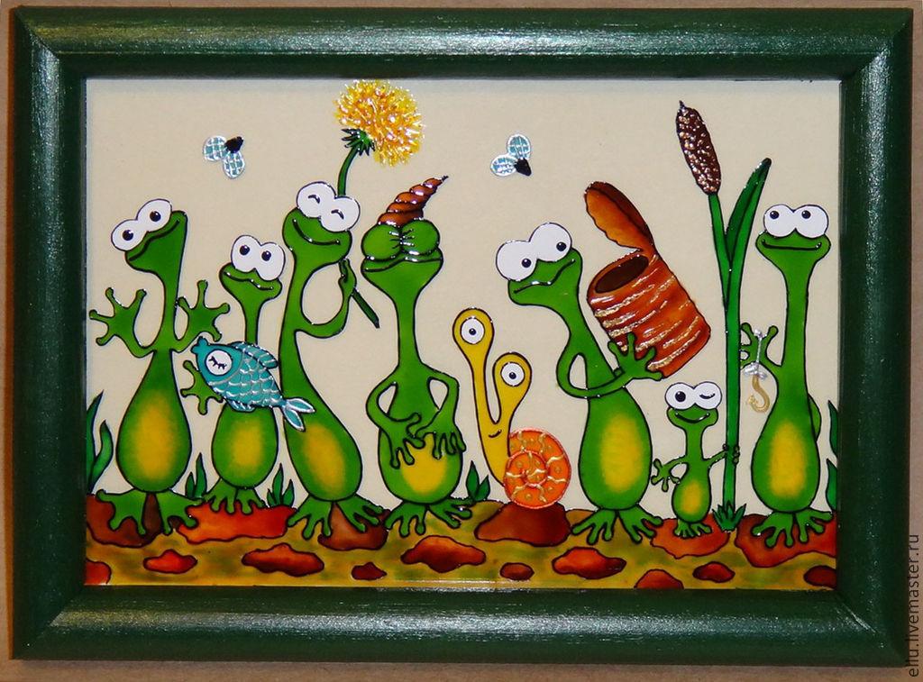 Прикольные рисунки для росписи, класс открытка февраля