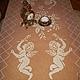 """Текстиль, ковры ручной работы. Скатерть """" Летящие Ангелы"""". Магазин столового белья. Ярмарка Мастеров. Скатерть вязаная"""