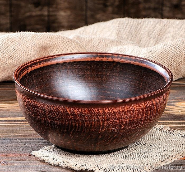 Salad bowl 'Smoothness' 3l, Salad Bowl, Feodosia,  Фото №1