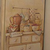 Дизайн и реклама ручной работы. Ярмарка Мастеров - ручная работа Роспись моего холодильника:). Handmade.
