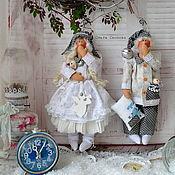 Куклы и игрушки ручной работы. Ярмарка Мастеров - ручная работа Сонный ангел Тильда.. Handmade.