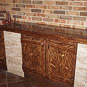 Для дома и интерьера ручной работы. Ярмарка Мастеров - ручная работа Кухня под старину из массива сосны. Handmade.
