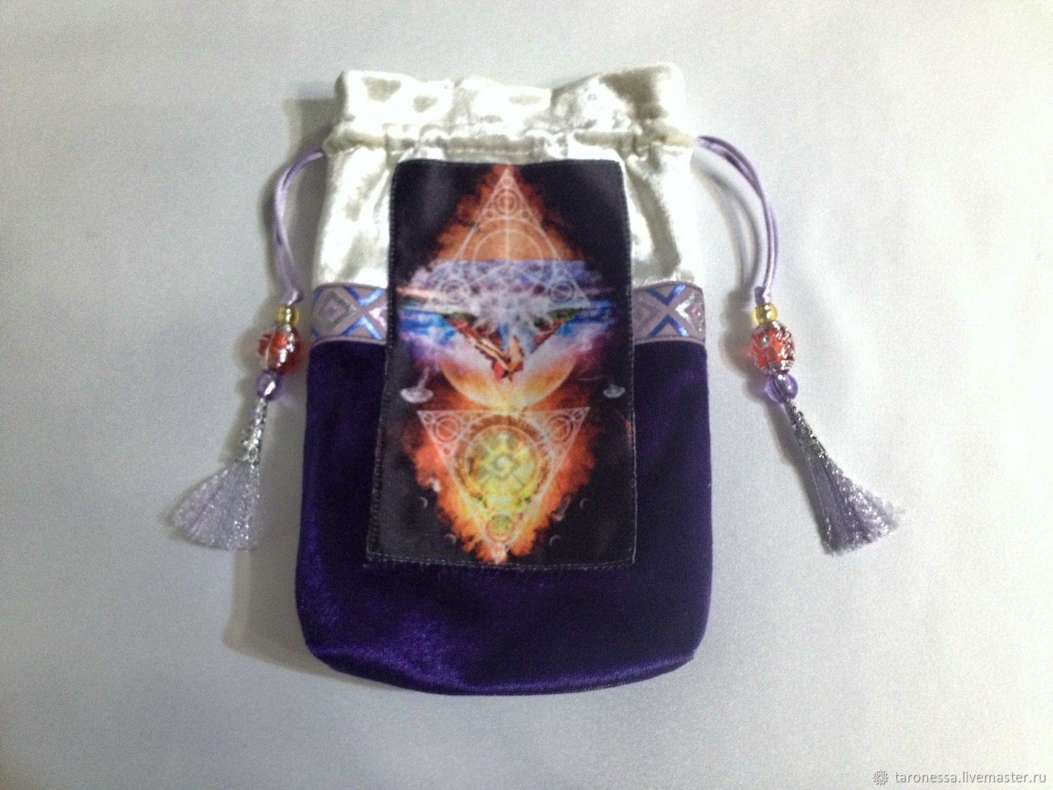 Pouch for Tarot, oracles, runes or crystals, Baggie, Noginsk,  Фото №1