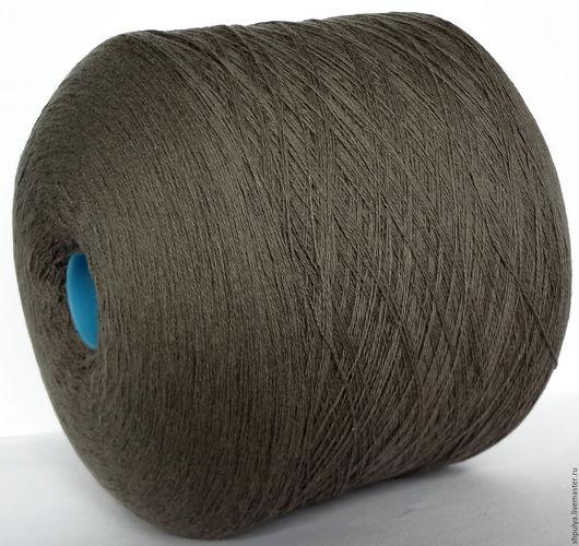 Filati Biagioli Modesto Кашемир 100% Nm: 2/28 - 1400 м в 100 г Цвет: холодный светлый коричневый, припыленный с бежевыми нотами. Цена указана за 1 кг