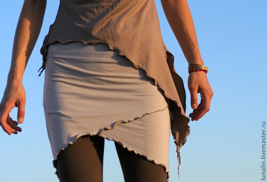 Трикотажный пояс для юбки купить