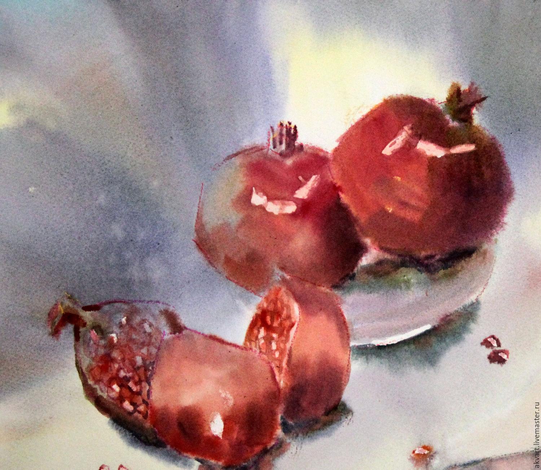 фото натюрморты акварелью