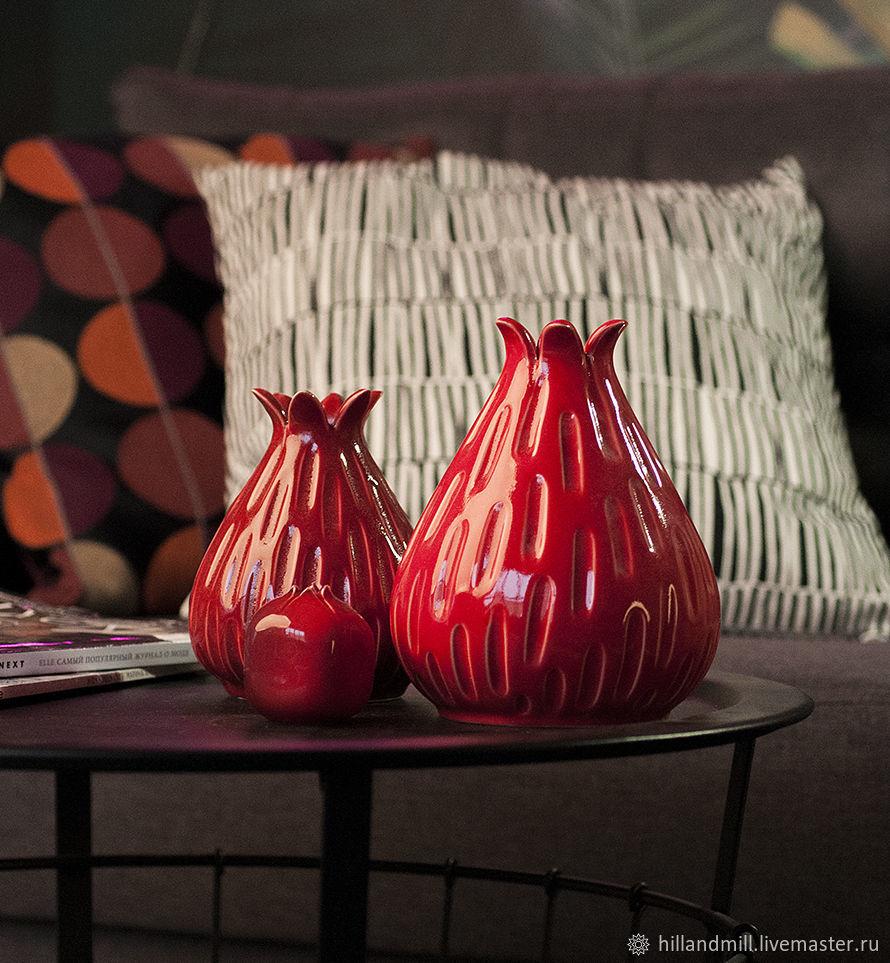 """Ваза """"Berry Red Queen L"""" 1,4 л, Вазы, Вязники,  Фото №1"""
