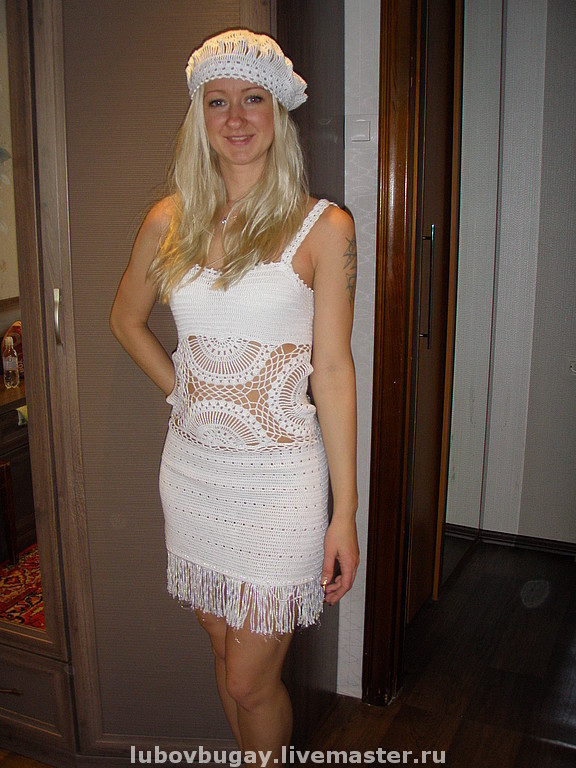 Вязаные платья для лета доставка