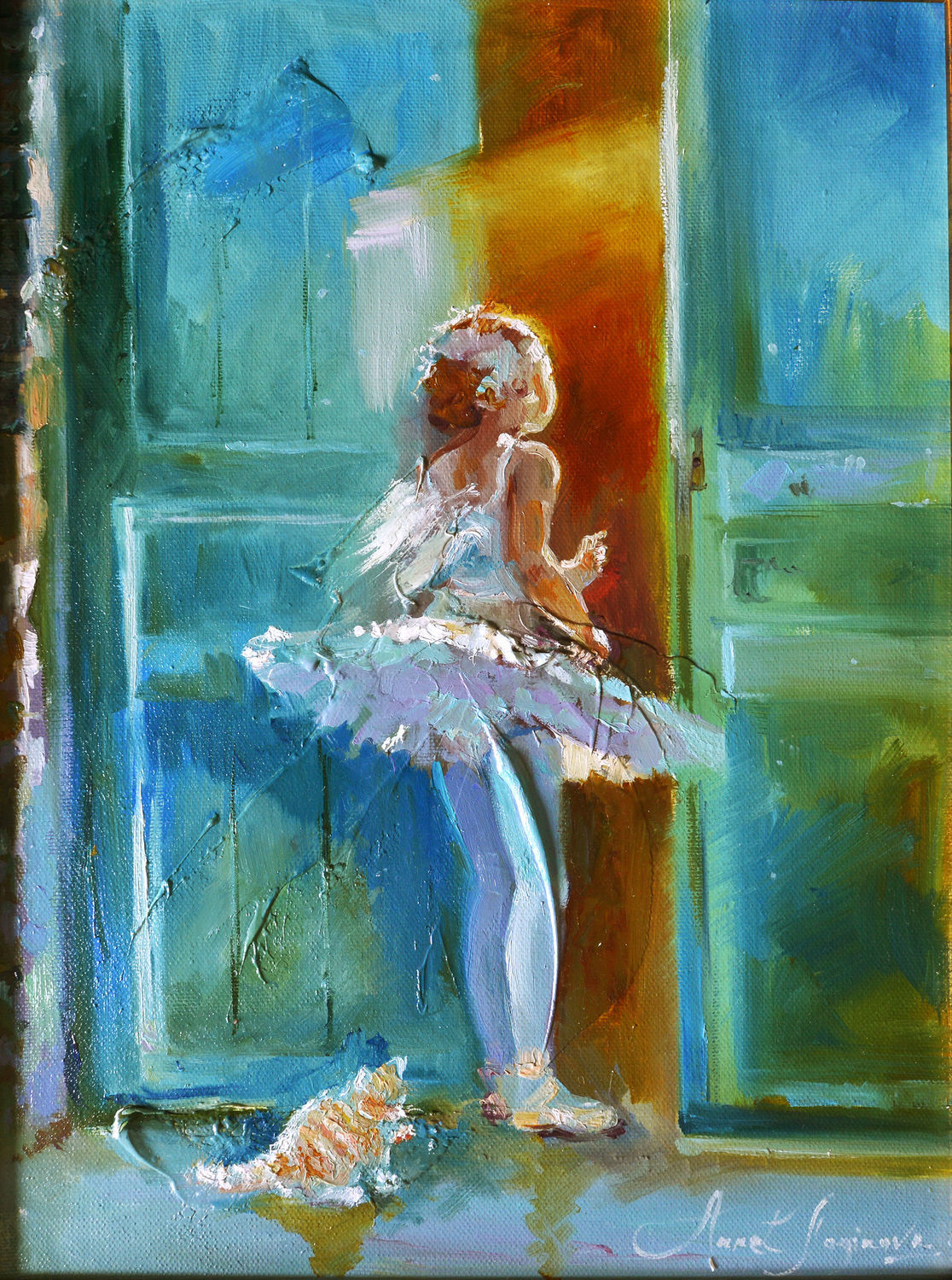 Dream dance - painting on canvas, Pictures, Moscow,  Фото №1