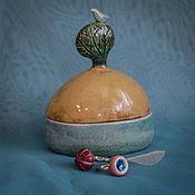 "Для дома и интерьера handmade. Livemaster - original item Box ""What bird sings"". Handmade."
