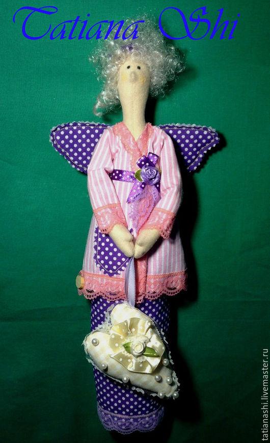 Куклы Тильды ручной работы. Ярмарка Мастеров - ручная работа. Купить Тильда. Хранительница ватных дисков. 40 см. Handmade.