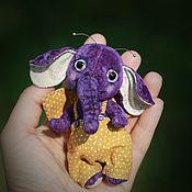 Куклы и игрушки ручной работы. Ярмарка Мастеров - ручная работа Слонобабочка фиолет. Handmade.