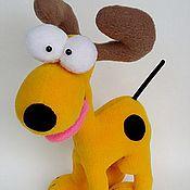 Подарки к праздникам ручной работы. Ярмарка Мастеров - ручная работа Игрушка собака Оди из Гарфилда. Handmade.