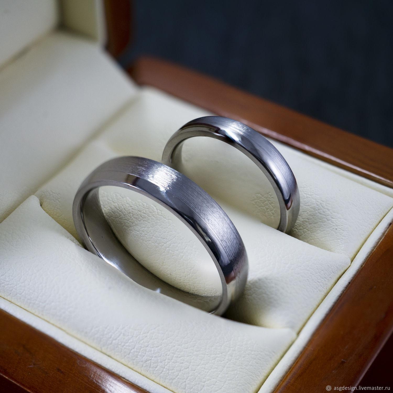 Titanium wedding bands, Wedding rings, Moscow,  Фото №1