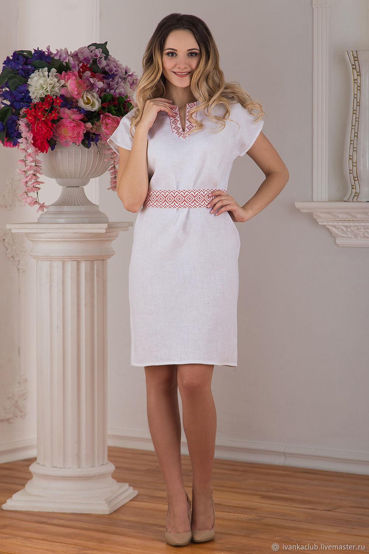 Dress linen Swan, Dresses, Omsk,  Фото №1