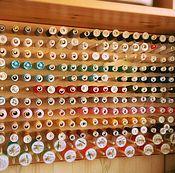 Материалы для творчества handmade. Livemaster - original item stand for threads. Stand for threads. Holder for reels.. Handmade.