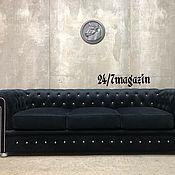 Для дома и интерьера handmade. Livemaster - original item Sofa 3-seater CHESTERFIELD. Handmade.