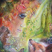 """Картины и панно ручной работы. Ярмарка Мастеров - ручная работа Картина """"Хранитель"""". Handmade."""
