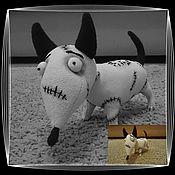 Куклы и игрушки ручной работы. Ярмарка Мастеров - ручная работа Пёсик Спарки. Handmade.