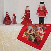 Куклы и игрушки ручной работы. Ярмарка Мастеров - ручная работа Одеяло для куклы - 2. Handmade.