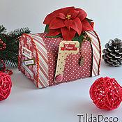 Подарки к праздникам ручной работы. Ярмарка Мастеров - ручная работа Рождественский почтовый ящик. Handmade.