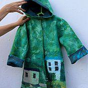 Работы для детей, handmade. Livemaster - original item Children`s felted coat