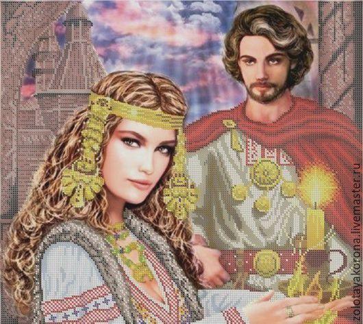 Колдунья и князь.