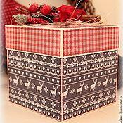 """Подарки к праздникам ручной работы. Ярмарка Мастеров - ручная работа Magic Box  """"Скандинавский Новый год"""". Handmade."""
