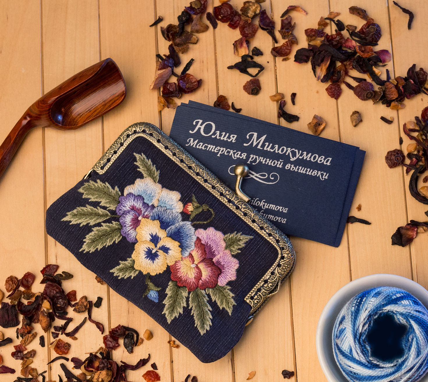 Business card holder Pansy, Business card holders, Moscow,  Фото №1