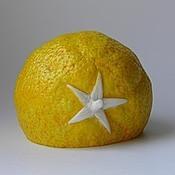 Подарки к праздникам ручной работы. Ярмарка Мастеров - ручная работа Лимонница горизонтальная из фарфора-бисквит. Handmade.