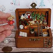 Куклы и игрушки handmade. Livemaster - original item Chest-storage space Kuzka. Handmade.