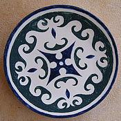 Посуда handmade. Livemaster - original item EAST 2 ceramic plate. Handmade.