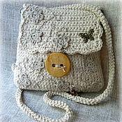 Сумки и аксессуары ручной работы. Ярмарка Мастеров - ручная работа сумочка в стиле бохо. Handmade.