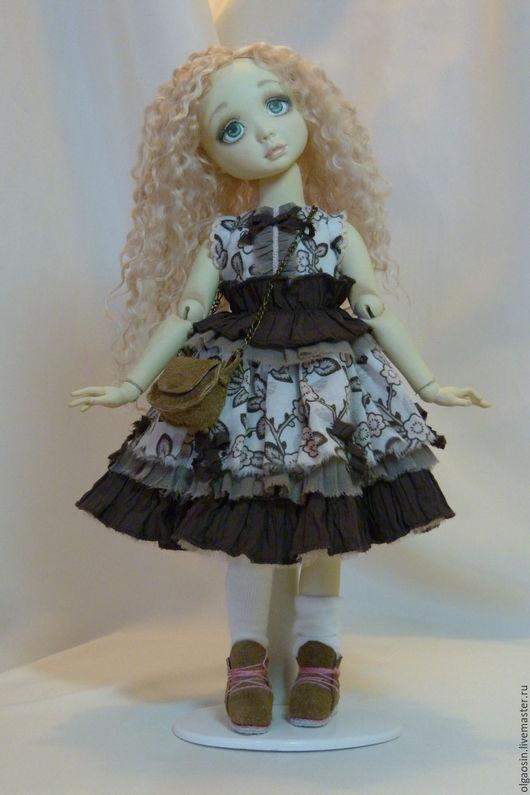 Коллекционные куклы ручной работы. Ярмарка Мастеров - ручная работа. Купить Малышка Тии. Handmade. Авторская кукла, полимерная глина