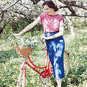 Одежда ручной работы. Ярмарка Мастеров - ручная работа Топ женский арт.1624V01. Handmade.